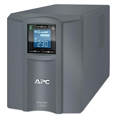 Фото - Интерактивный ИБП APC by Schneider Electric Smart-UPS SMC2000I-RS ибп apc smart ups c smc2000i 2u