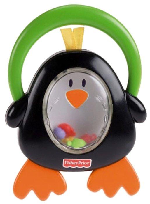 """Прорезыватель-погремушка Fisher-Price """"Играй и изучай"""" Пингвин"""