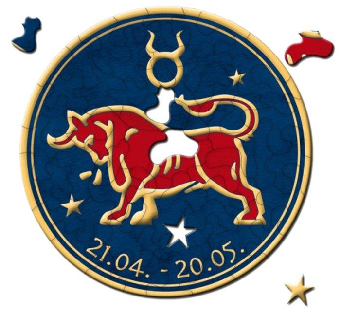 Пазл Curiosi Stella Знаки зодиака - Телец (C544), 46 дет.