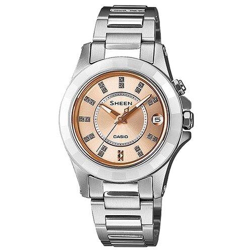 цена Наручные часы CASIO SHE-4509SG-4A онлайн в 2017 году