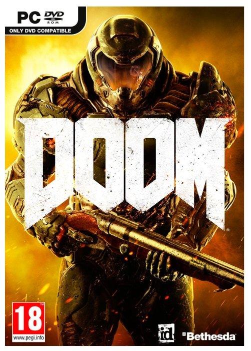 Игра Doom (PS4, русская версия)