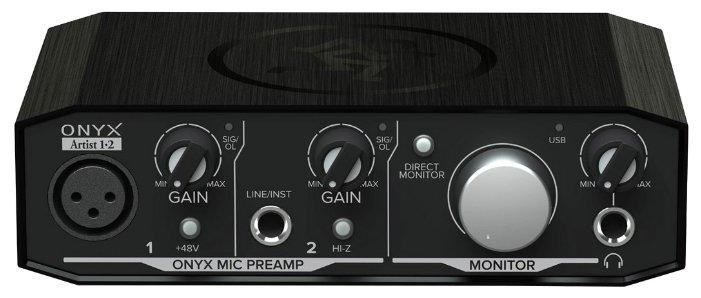 Внешняя звуковая карта Mackie Onyx Artist 1•2