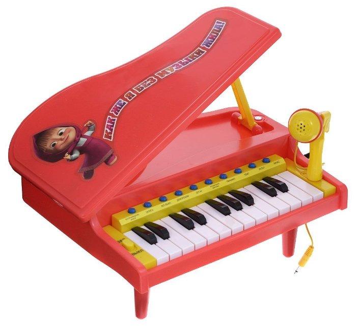 Играем вместе пианино Маша и Медведь B290220-R2