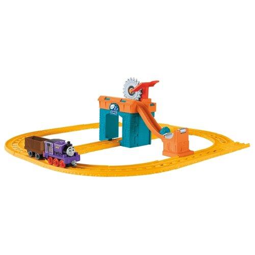 Купить Fisher-Price Стартовый набор Чарли за работой , серия Collectible Railway, CDV08, Наборы, локомотивы, вагоны