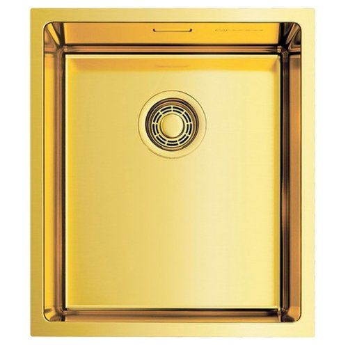 Фото - Интегрированная кухонная мойка 38 см OMOIKIRI Taki 38-U/IF-LG светлое золото кухонная мойка omoikiri taki 44 u if lg 4973520