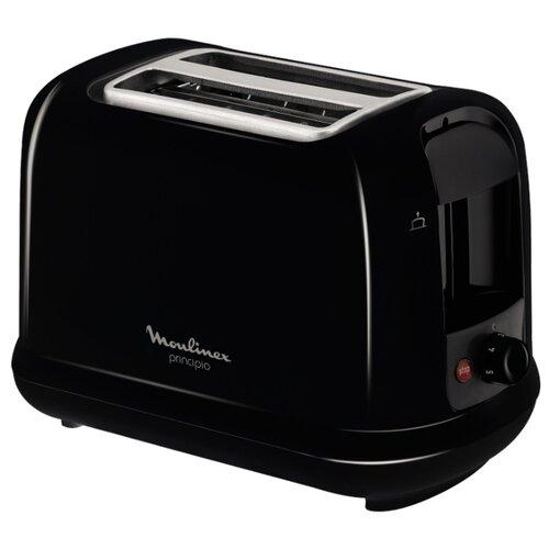 Тостер Moulinex LT 160830, черный тостер moulinex tt110232
