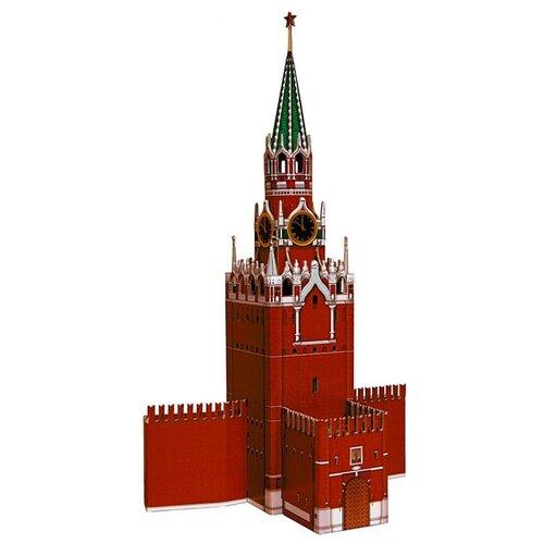 Сборная модель Умная Бумага Спасская башня Московского Кремля (219) брошь спасская башня