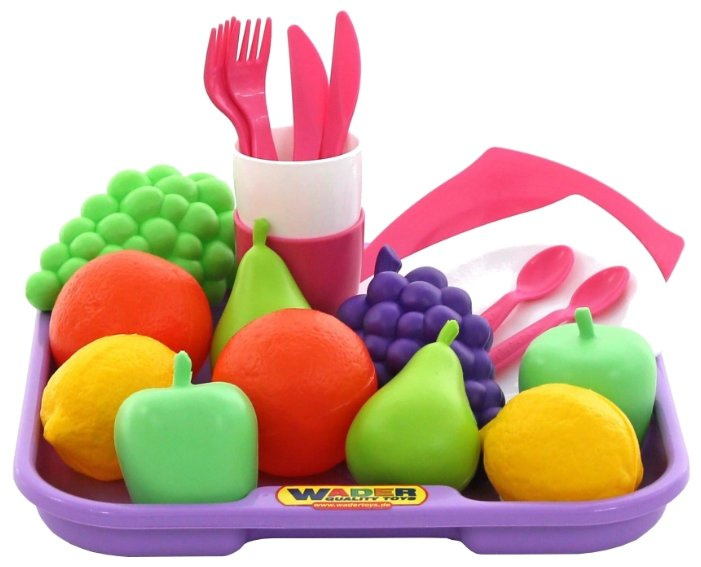 Набор продуктов с посудой Полесье №2