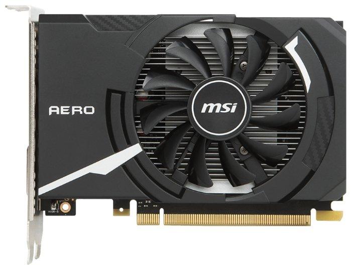 MSI Видеокарта MSI GeForce GT 1030 1265MHz PCI-E 3.0 2048MB 6008MHz 64 bit DVI HDMI HDCP Aero ITX OC