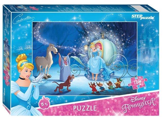 Пазл Step puzzle Disney Золушка - 2 (94068), 160 дет.