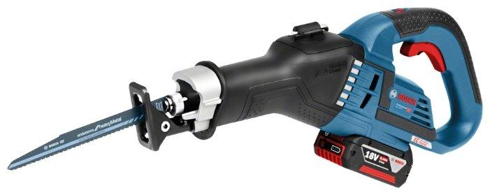 Bosch GSA 18V-32 5.0Ач х2 L-BOXX