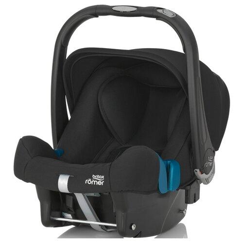 Автокресло-переноска группа 0+ (до 13 кг) BRITAX ROMER Baby-Safe Plus II SHR, Cosmos Black группа 0 0 от 0 до 13 кг britax roemer baby safe plus shr ii