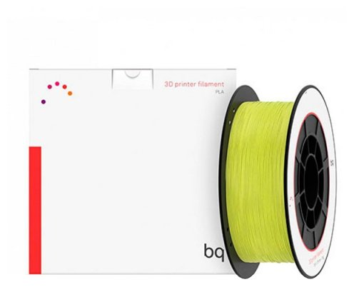 PLA пруток BQ 1.75 мм желто-зеленый (sulphur yellow)