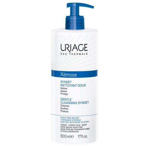 Uriage гель-крем пенящийся Xemose, 500 мл uriage мягкий очищающий пенящийся гель синдет xemose 500 мл