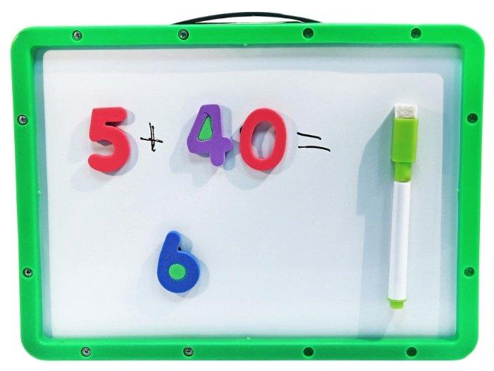 Доска для рисования детская Amico магнитная с цифрами (41812)