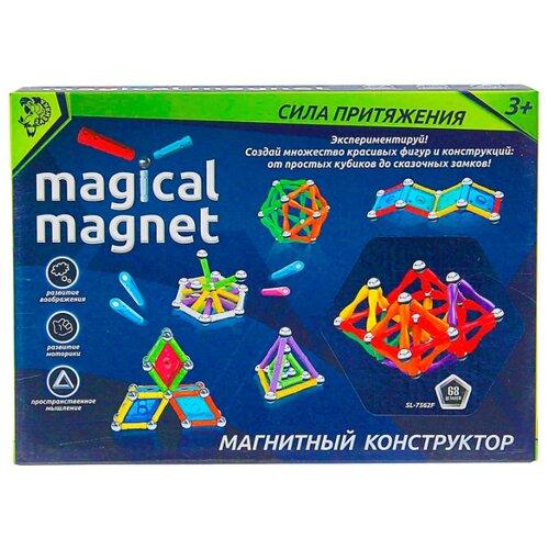 Магнитный конструктор Zabiaka Magical Magnet 1387368-68 Необычные фигуры