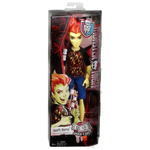 Кукла Monster High Школьная ярмарка Хит Бернс, 26 см, CHW72