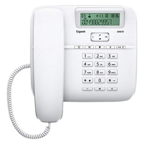 Телефон Gigaset DA610 белый телефон