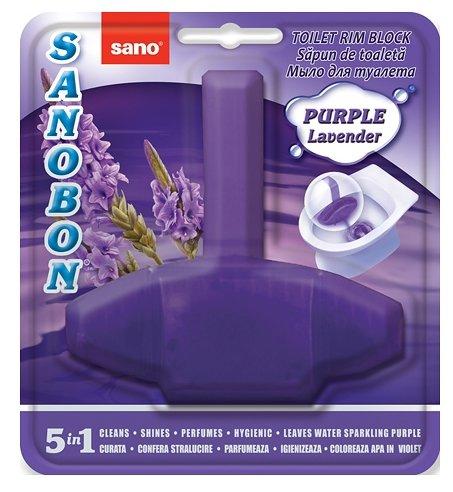 Sano подвеска для унитаза Sanobon Rim Block Purple lavender