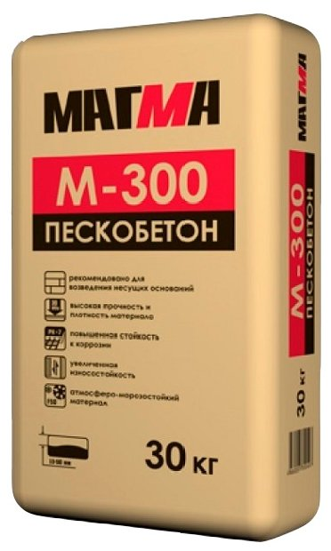 Пескобетон Магма М-300, 30 кг