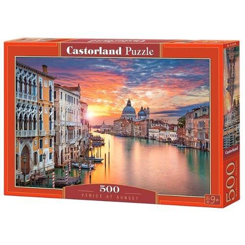 Фото - Пазл Castorland Venice at Sunset (B-52479), 500 дет. пазл castorland old sutter's mill b 52691 500 дет
