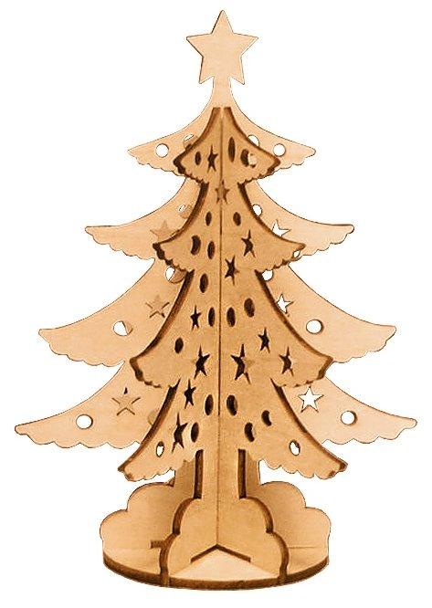 Сборная модель Чудо Дерево Новогодняя елка (80021)