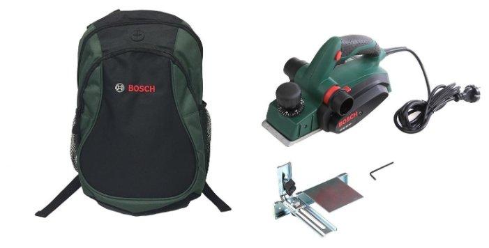 Электрорубанок BOSCH PHO 3100 + рюкзак