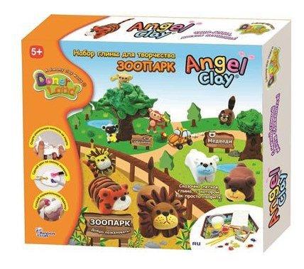 Полимерная глина Angel Clay Зоопарк (AA12071)