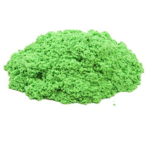Купить Кинетический песок Космический песок Набор 150 грамм с формочкой зеленый 0.15 кг картонная пачка