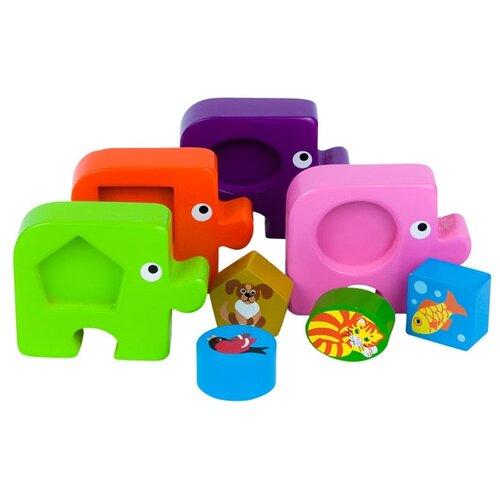 Купить Набор рамок-вкладышей Step puzzle Baby Step Подбираем фигуры Домашние любимцы (89025), Пазлы