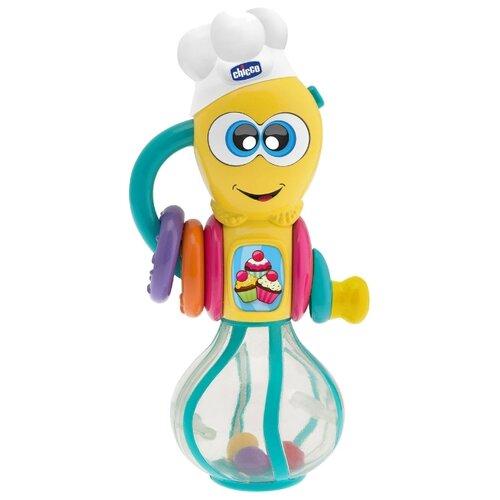 Погремушка Chicco Венчик 7703 голубой/желтый chicco погремушка ключи на кольце голубая chicco