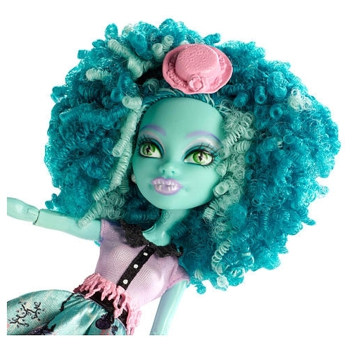 Кукла Monster High Страх! Камера! Мотор! Хани Свомп, 26 см, BDD86 Куклы и пупсы