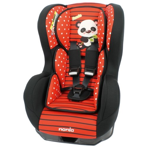 цена на Автокресло группа 0/1 (до 18 кг) Nania Cosmo SP Animals, panda red