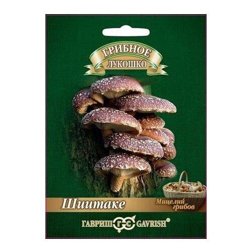 Мицелий грибов Гавриш Грибное лукошко Шиитаке на древесной палочке 12 шт.