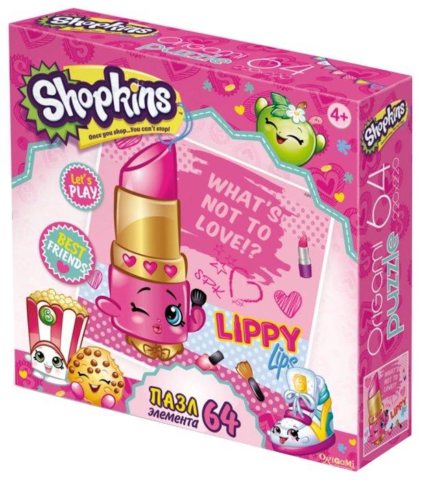 Пазл Origami Shopkins Модная Липпи (02963), 64 дет.