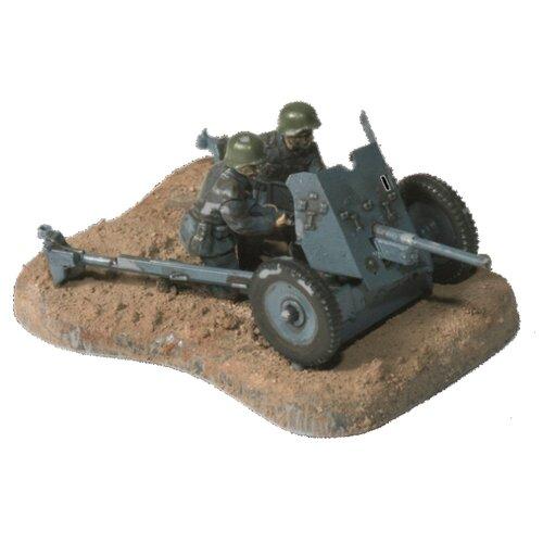 Фото - Сборная модель ZVEZDA Немецкая противотанковая пушка Пак-36 с расчётом (6114) 1:72 сборная модель zvezda немецкая пехота в зимней форме 1941 1945 6198 1 72