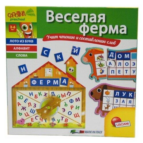 Настольная игра Lisciani Giochi Веселая ферма R53087 обучающая игра lisciani e54275 e54275