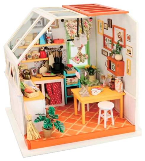 Сборная модель Rolife Румбокс Уютная кухня (DG105),