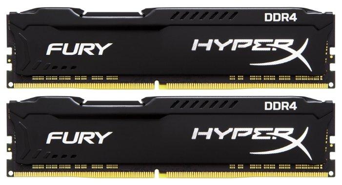 HyperX Оперативная память HyperX HX424C15FBK2/8