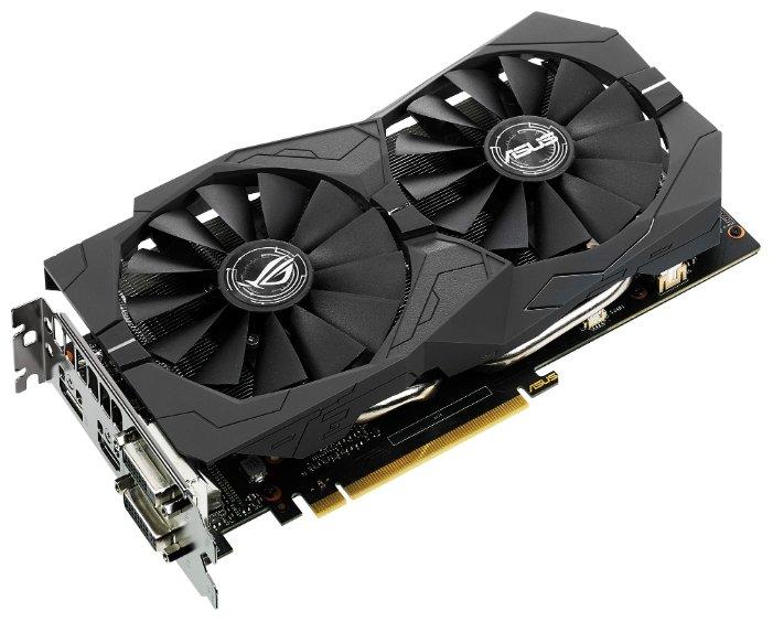 ASUS Видеокарта ASUS GeForce GTX 1050 Ti 1379Mhz PCI-E 3.0 4096Mb 7008Mhz 128 bit 2xDVI HDMI HDCP Strix OC Gaming