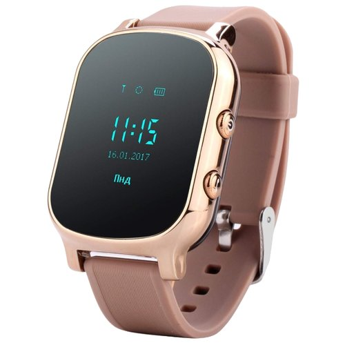 Купить Часы Smart Baby Watch T58 золотистый