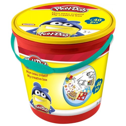 Купить Масса для лепки Play-Doh Творческое ведерко (CPDO150), Пластилин и масса для лепки