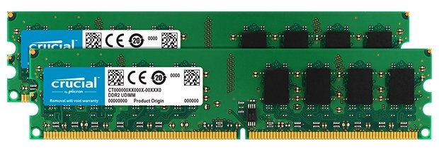Crucial Оперативная память Crucial CT2KIT25672AA80EA