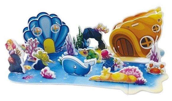 3D-пазл Zilipoo 3D Подводный мир (689-W), 21 дет.