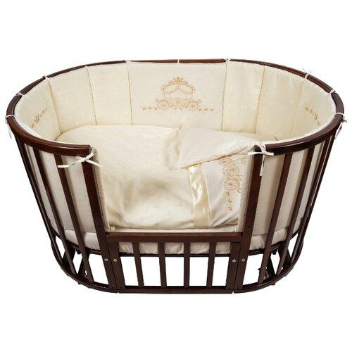Купить Nuovita комплект Prestigio Atlante (6 предметов) 125х75 см шампань, Постельное белье и комплекты