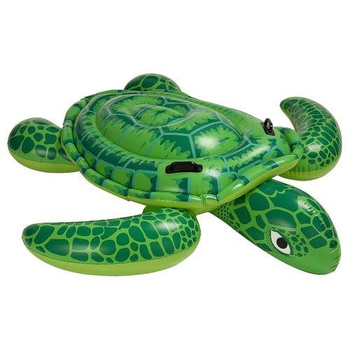 Купить Надувная игрушка-наездник Intex Морская черепаха Лил 57524 зеленый, Надувные игрушки