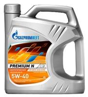 Моторное масло Газпромнефть Premium N 5W-40 4 л