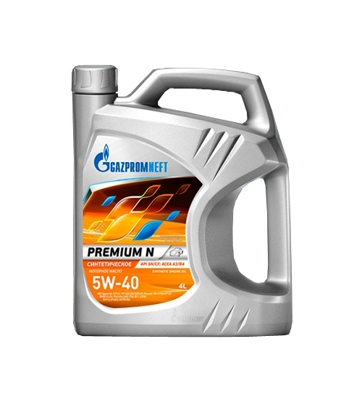 Стоит ли покупать Моторное масло Газпромнефть Premium N 5W-40 4 л? 33 отзыва на Яндекс.Маркете