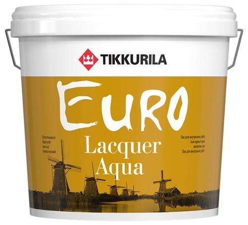 Стоит ли покупать Лак Tikkurila Euro Lacquer Aqua матовый полиакриловый? Отзывы на Яндекс.Маркете