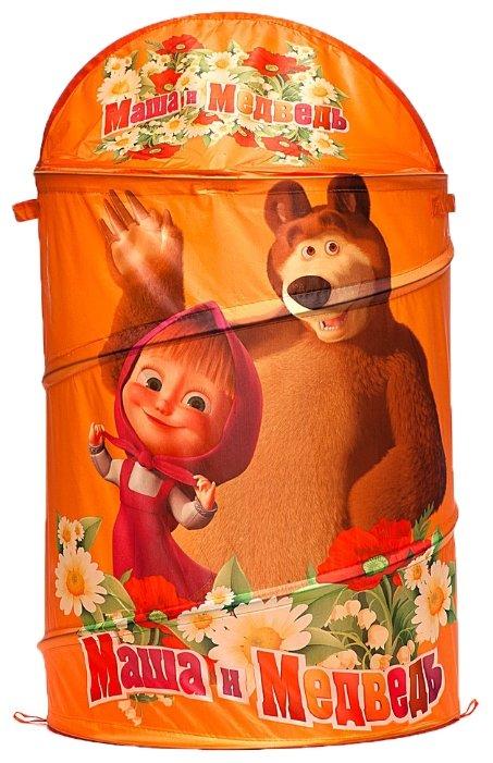 Корзина для игрушек Играем вместе Маша и Медведь 43*60 см XDP-1792-R